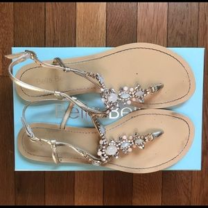 be97c6f26 bella belle. Bella Belle LUNA Gold Dress Sandals